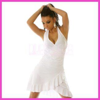 Női nyári ruha latinos fodros salsa ruha