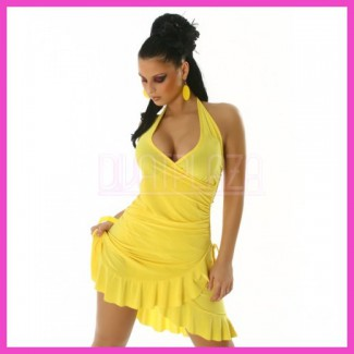 Női nyári ruha latinos fodros salsa ruha.....
