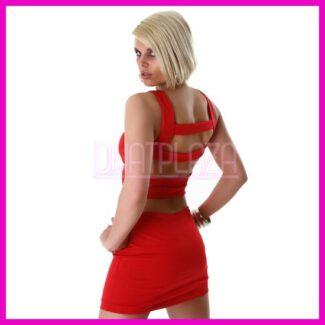 Ujjatlan nyári Miniruha elegáns ruha csík-hátú 8d19df5e04