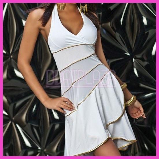 Női nyári ruha latinos fodros csinos salsa ruha