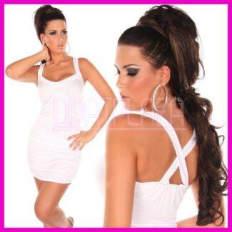 White Party X pántos nyári ruha, alkalmi ruha