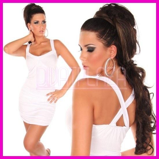 White Party X pántos nyári ruha d0a70789da