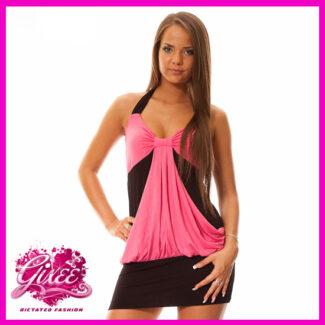 GIXEE Miniruha party ruha vállpántos c029d27fe8