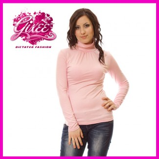 GIXEE Garbós húzott nyakú női felső 536b31afc6