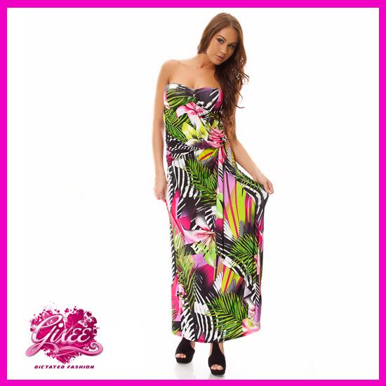 GIXEE Maxiruha, dekoltál hosszú nyári ruha