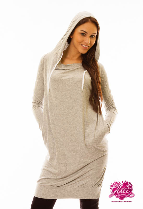 632b840337 GIXEE Kapucnis szabadidő ruha, tunika   divatplaza
