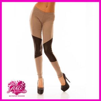 GIXEE Térd Bőrbetétes legging cicanadrág