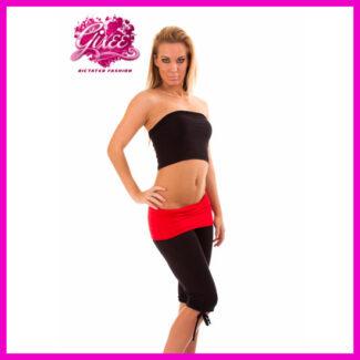 GIXEE fitness ruha, capri fazonú nadrág + csőtop