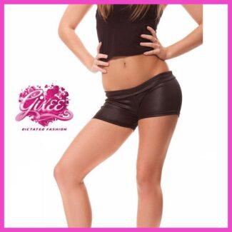 GIXEE Rövid nadrág, Forró nadrág,  bőrhatású