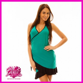 GIXEE Salsa ruha, latino ruha, nyári kánikula ruha