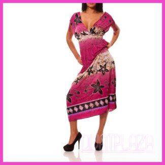 Maxiruha hosszú ruha pink
