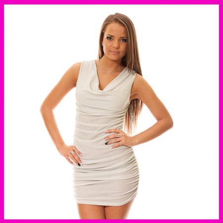 Party ruha Fehér